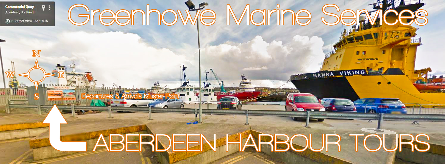 Aberdeen Harbour Tours - Commercial Quay, Aberdeen, AB11 5NT - Click For Google Street Map